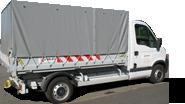Bâches PVC camion